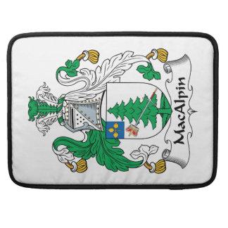 Escudo de la familia de MacAlpin Funda Macbook Pro
