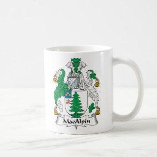 Escudo de la familia de MacAlpin Taza