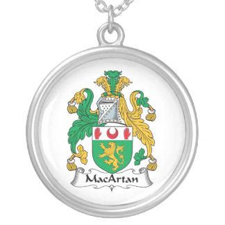 Escudo de la familia de MacArtan Collar Personalizado