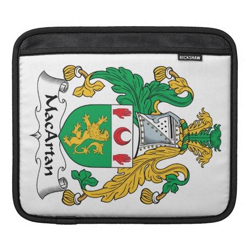 Escudo de la familia de MacArtan Funda Para iPads