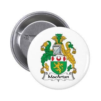 Escudo de la familia de MacArtan Pin