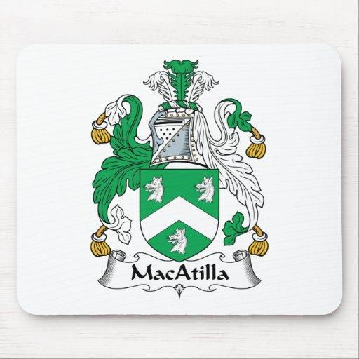 Escudo de la familia de MacAtilla Alfombrilla De Raton
