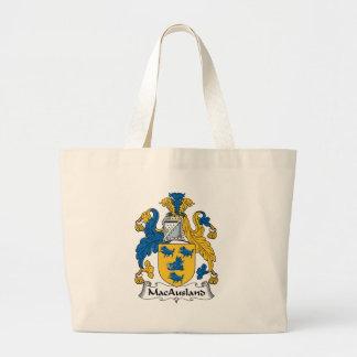 Escudo de la familia de MacAusland Bolsa Lienzo