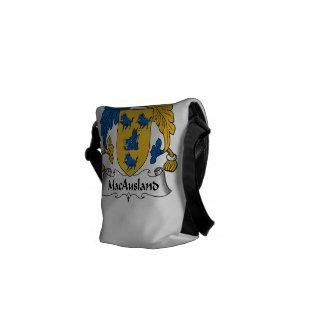 Escudo de la familia de MacAusland Bolsas De Mensajeria