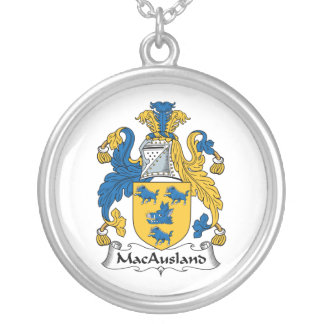 Escudo de la familia de MacAusland Colgantes Personalizados
