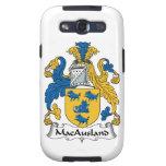 Escudo de la familia de MacAusland Galaxy SIII Fundas