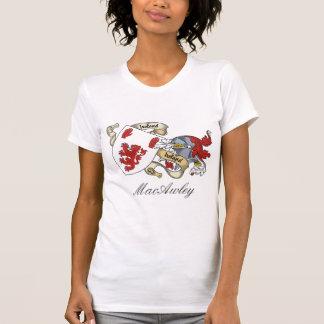 Escudo de la familia de MacAwley Camisetas