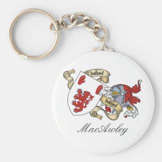 Escudo de la familia de MacAwley Llaveros Personalizados