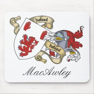 Escudo de la familia de MacAwley Alfombrilla De Raton