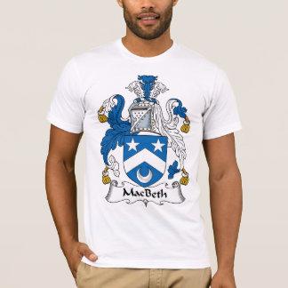 Escudo de la familia de Macbeth Playera