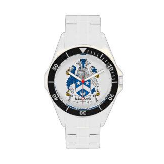 Escudo de la familia de Macbeth Relojes