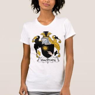 Escudo de la familia de MacBrady Camiseta