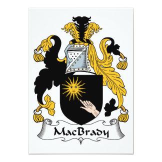 Escudo de la familia de MacBrady Comunicados