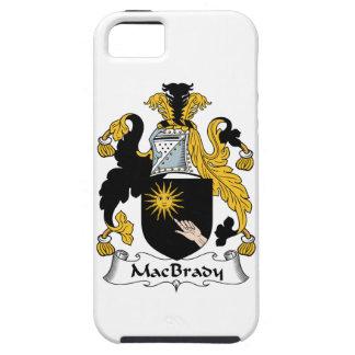 Escudo de la familia de MacBrady iPhone 5 Protector