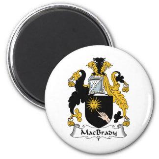 Escudo de la familia de MacBrady Iman Para Frigorífico