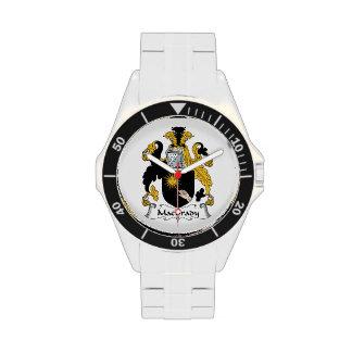 Escudo de la familia de MacBrady Reloj