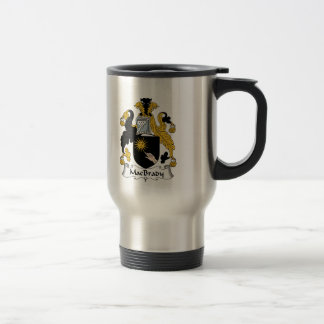 Escudo de la familia de MacBrady Tazas De Café