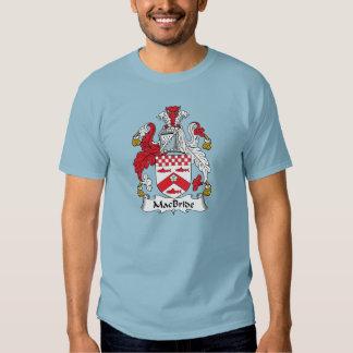 Escudo de la familia de MacBride Camisas