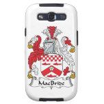 Escudo de la familia de MacBride Galaxy S3 Funda