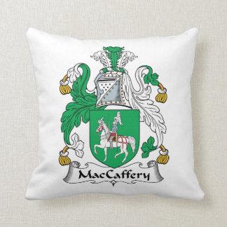 Escudo de la familia de MacCaffery Cojin
