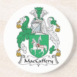 Escudo de la familia de MacCaffery Posavasos Personalizados