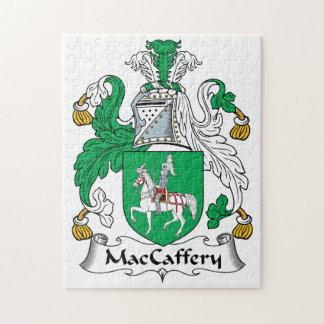 Escudo de la familia de MacCaffery Puzzle
