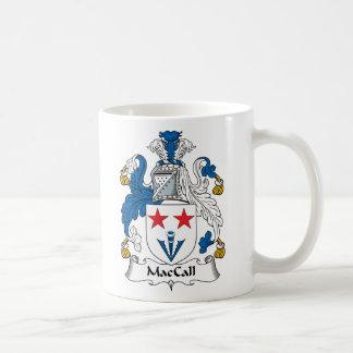 Escudo de la familia de MacCall Taza Clásica
