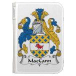 Escudo de la familia de MacCann