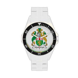 Escudo de la familia de MacCartan Relojes