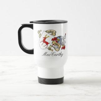 Escudo de la familia de MacCarthy Tazas De Café