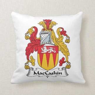 Escudo de la familia de MacCashin Almohadas