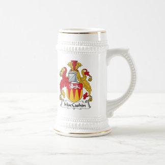Escudo de la familia de MacCashin Jarra De Cerveza