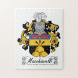 Escudo de la familia de Macchiavelli Rompecabeza