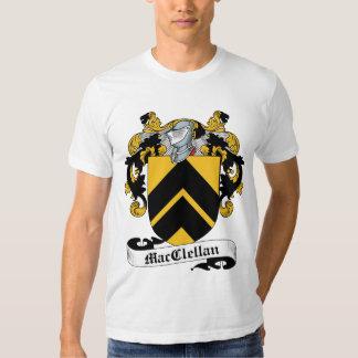 Escudo de la familia de MacClelland Camisas
