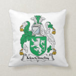 Escudo de la familia de MacClinchy Almohadas