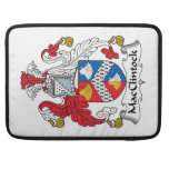 Escudo de la familia de MacClintock Funda Para Macbooks