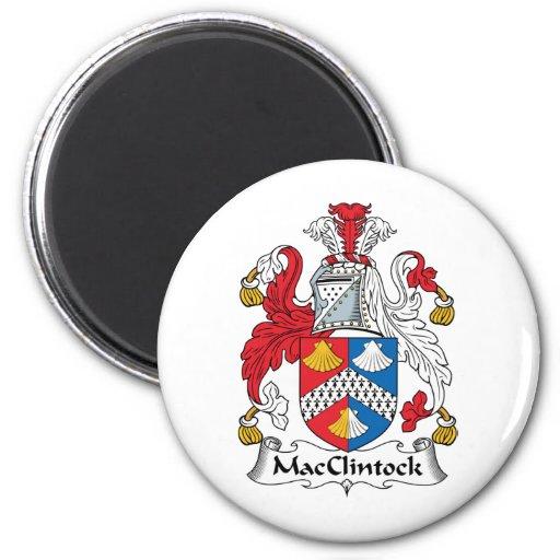 Escudo de la familia de MacClintock Imán