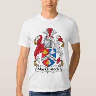 Escudo de la familia de MacClintock Polera