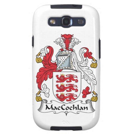 Escudo de la familia de MacCochlan Samsung Galaxy S3 Cárcasa