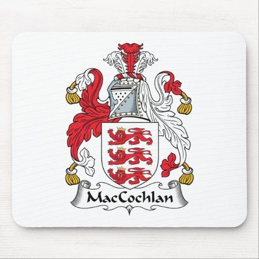 Escudo de la familia de MacCochlan Alfombrillas De Raton