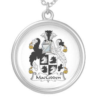 Escudo de la familia de MacCodden Colgante Redondo