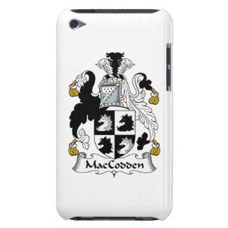 Escudo de la familia de MacCodden iPod Touch Case-Mate Protectores