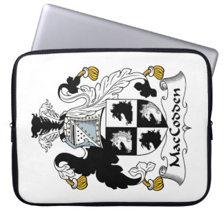 Escudo de la familia de MacCodden Funda Ordendadores