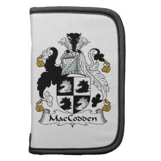 Escudo de la familia de MacCodden Organizadores