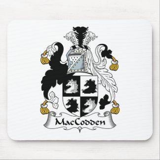 Escudo de la familia de MacCodden Tapetes De Raton