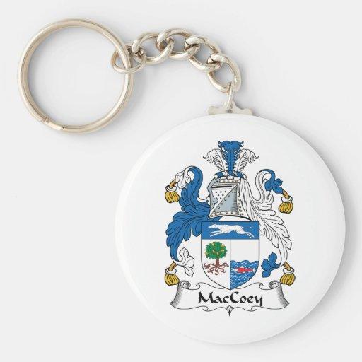 Escudo de la familia de MacCoey Llaveros
