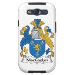 Escudo de la familia de MacCoglan Samsung Galaxy S3 Cárcasas
