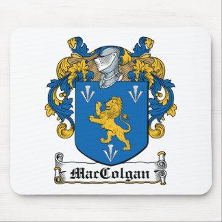 Escudo de la familia de MacColgan Alfombrillas De Ratón
