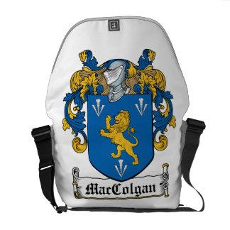 Escudo de la familia de MacColgan Bolsas De Mensajería