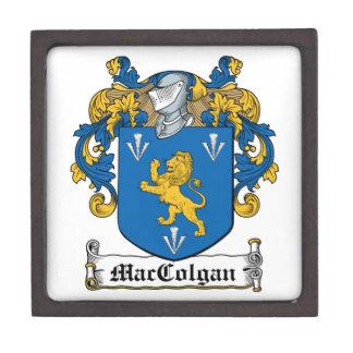Escudo de la familia de MacColgan Cajas De Joyas De Calidad